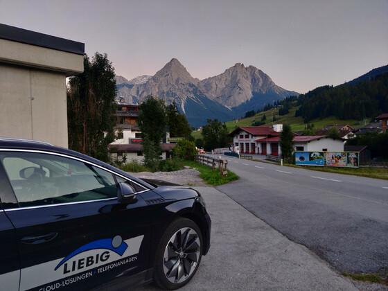 Ladepunkt in Österreich - Lermoos